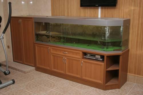 Тумба для аквариума своими руками фото